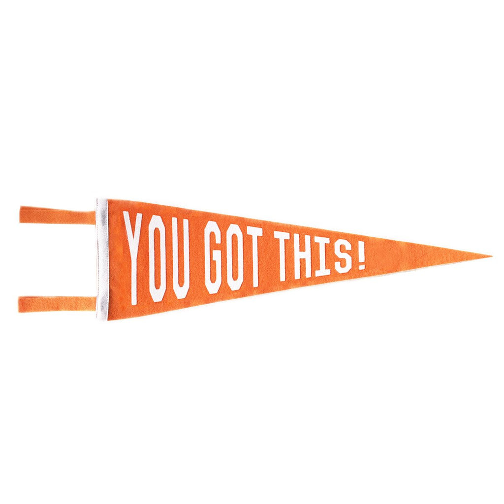 YOU GOT THIS PENNANT - ORANGE