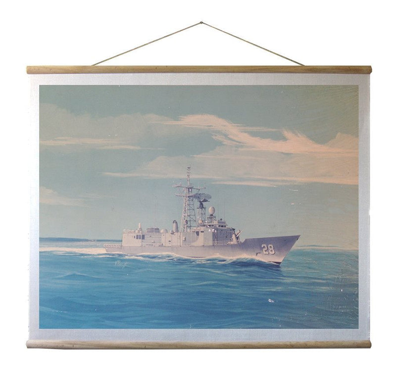 WALLHANGING: NAVAL SHIP