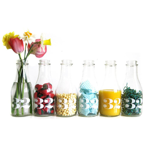 MILK BOTTLE CARAFE