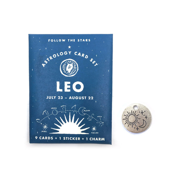 LEO (JULY 23 - AUG 22) ASTROLOGY CARD PACK