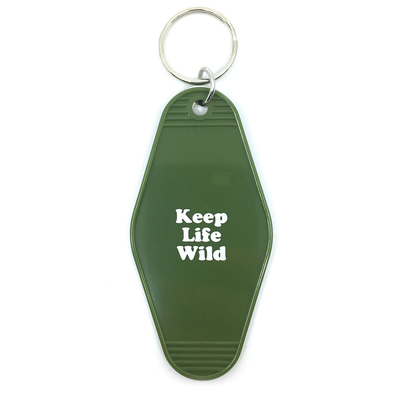 KEEP LIFE WILD KEY TAG