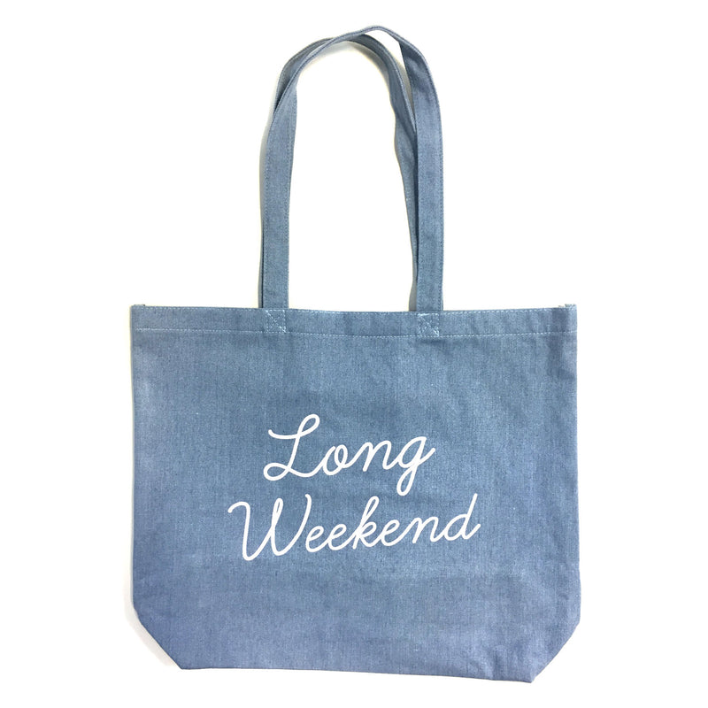 Tote Bag - Long Weekend