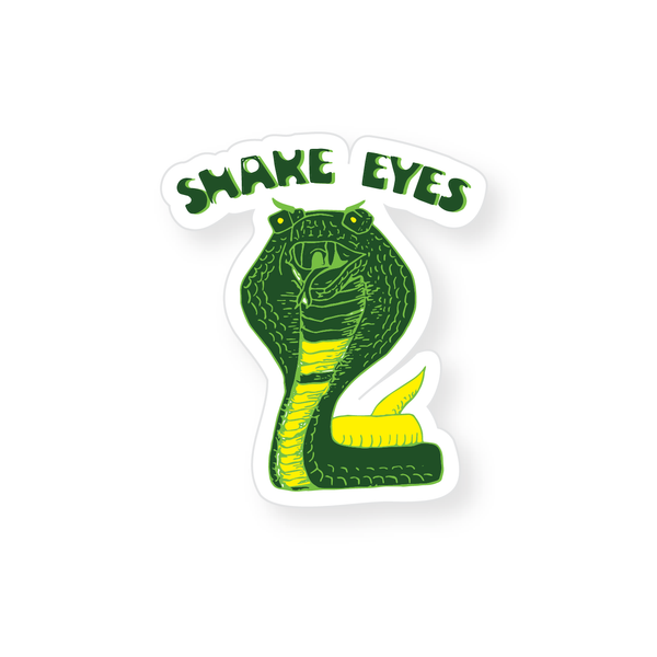 Sticker - Snake Eyes