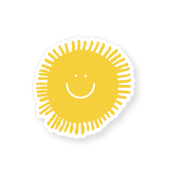 Sticker - Happy Sun