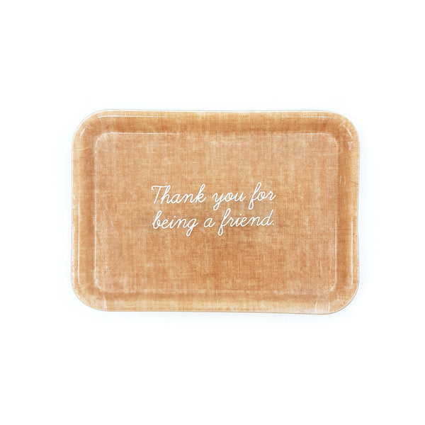 Thank you for being a friend small trinket tray for valentines day