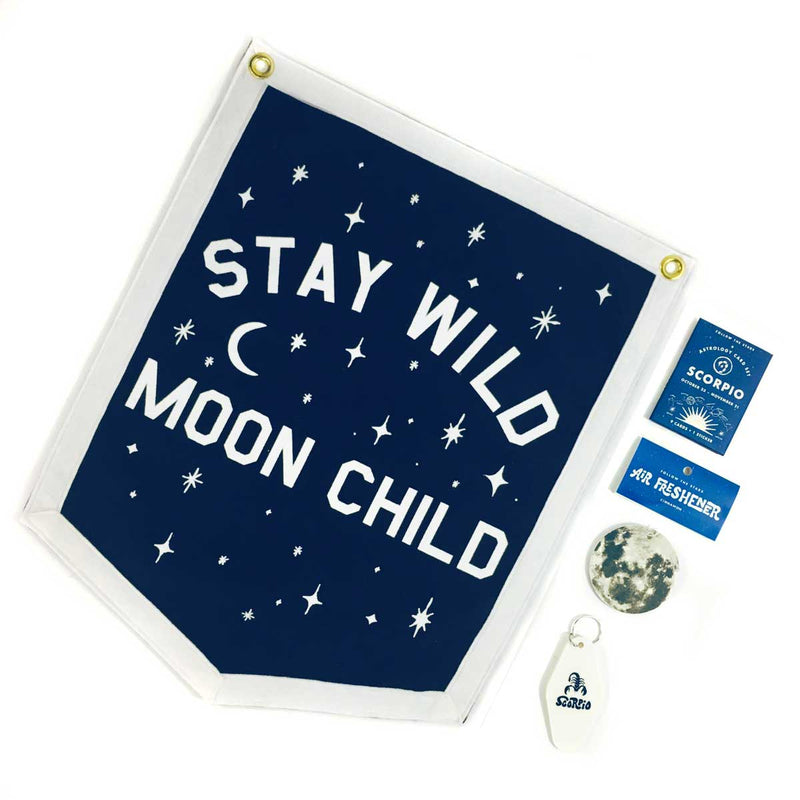 Astrology Gift Set - Stay Wild Moon Child