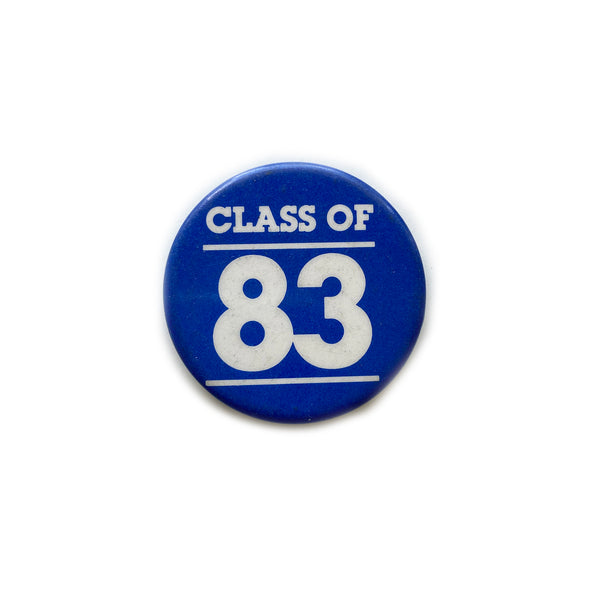 Vintage Button - Class of 83