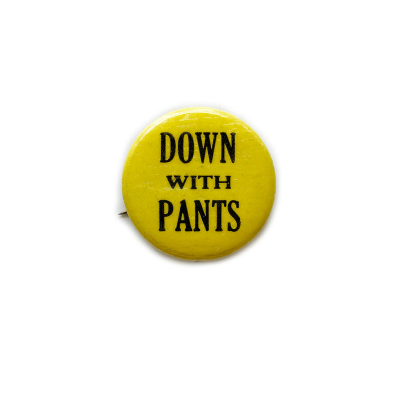Vintage Button - Down With Pants (Yellow)