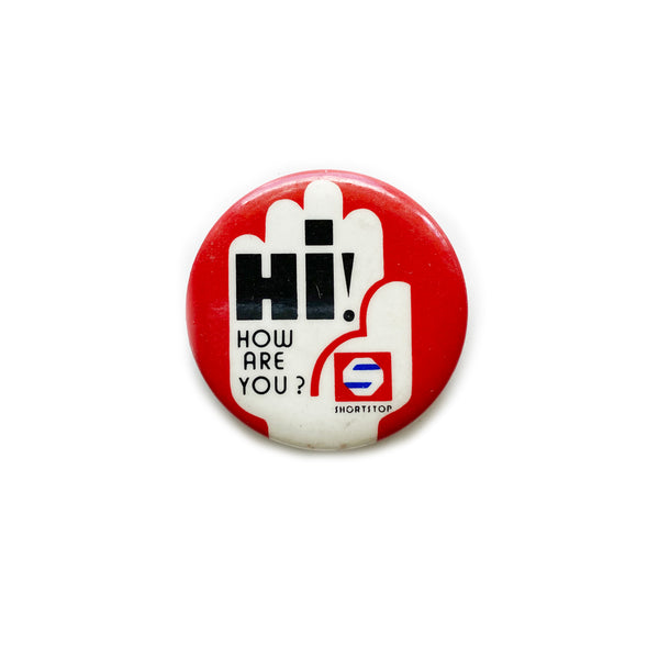 Vintage Button - Hi! How Are You?