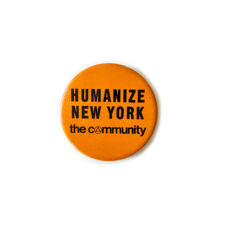 Vintage Button - Humanize NY