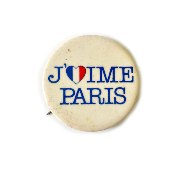 Vintage Button - Paris