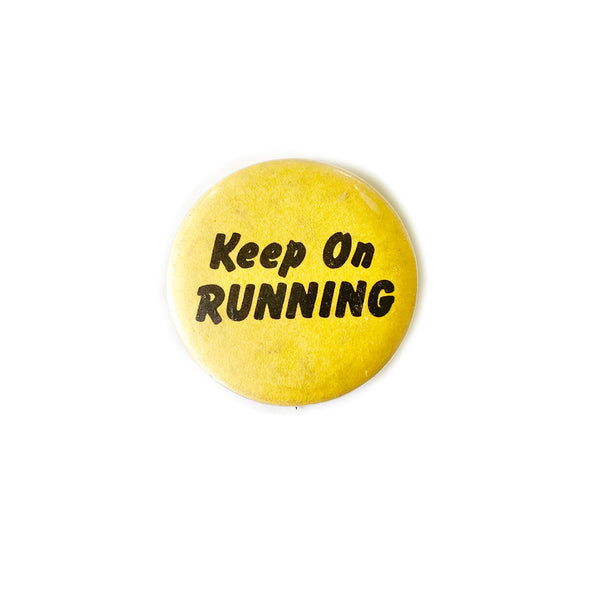 Vintage Button - Keep On Running