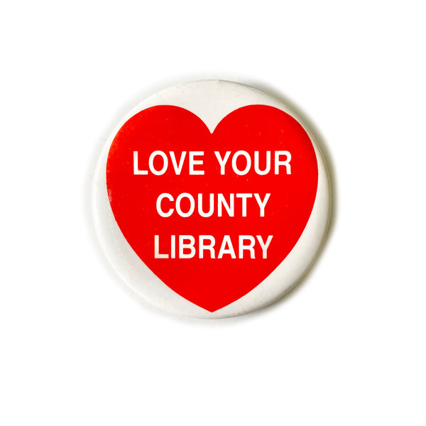 Vintage Button - County Library