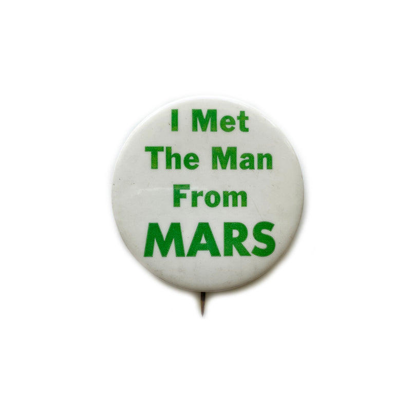 Vintage Button - Man from Mars
