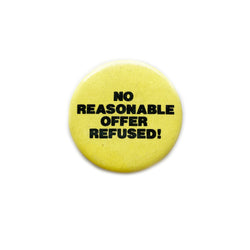 Vintage Button - No Reasonable Offer