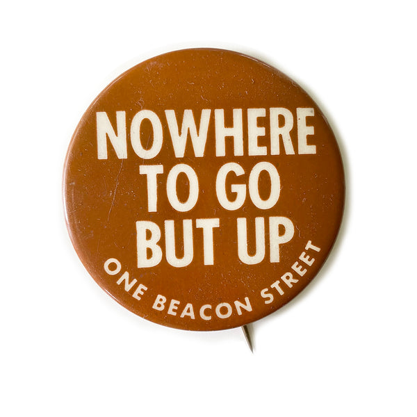 Vintage Button - One Beacon Street