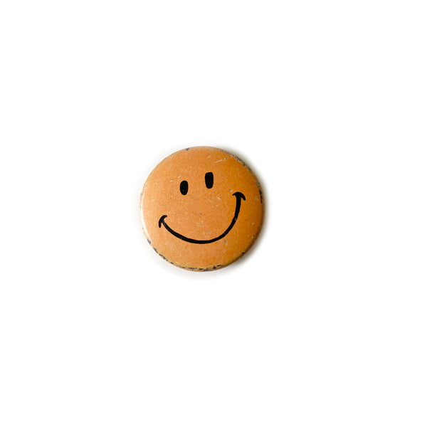 Vintage Button - Smiley (Mini)