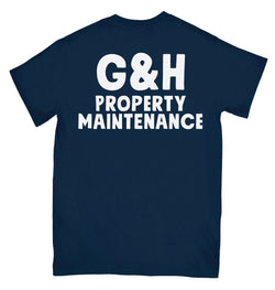 Property Maintenance Pocket Tee - Navy