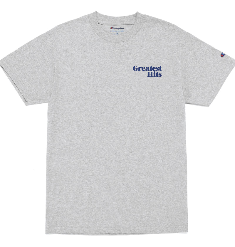 Stacked University Tee - Heather