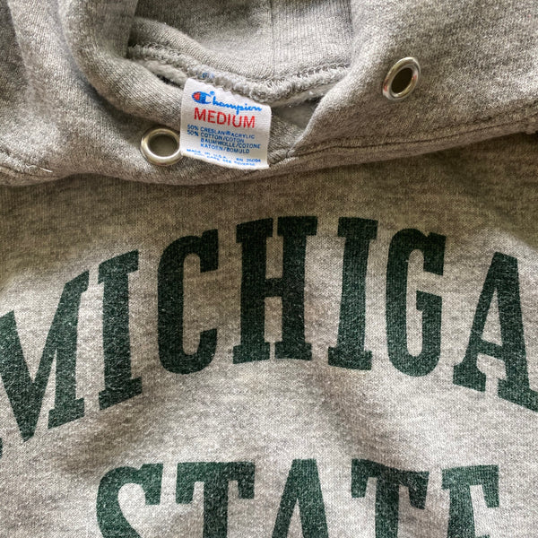 Vintage Michigan State Champion Hoodie Sweatshirt