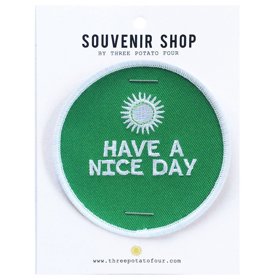 ALOHA - HAVE A NICE DAY PATCH