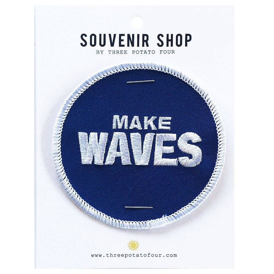 ALOHA - MAKE WAVES PATCH
