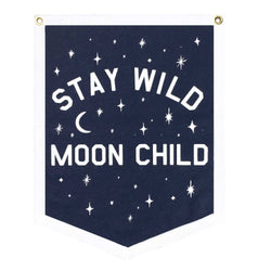 STAY WILD MOON CHILD - FELT BANNER