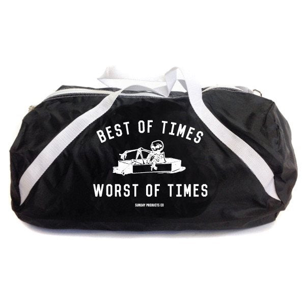 Best of Times Worst of Times Athletic Bag