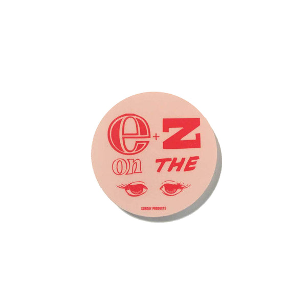 EZ ON THE EYES STICKER