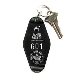 RAMEN SOCIETY KEY TAG