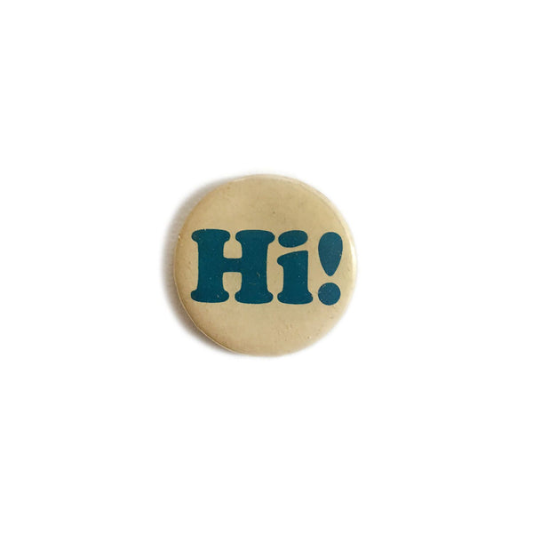 """Hi!"" Button"