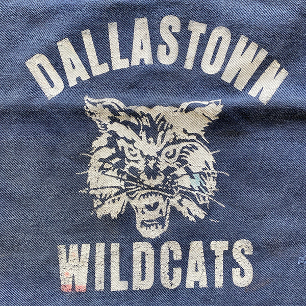 Vintage P.E. Gym Bag Dallastown Wildcats