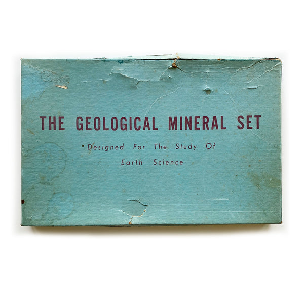 Vintage Geological Mineral Set