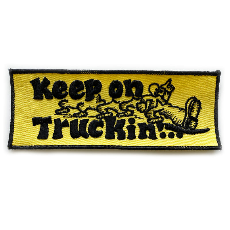Vintage Keep On Truckin' Patch