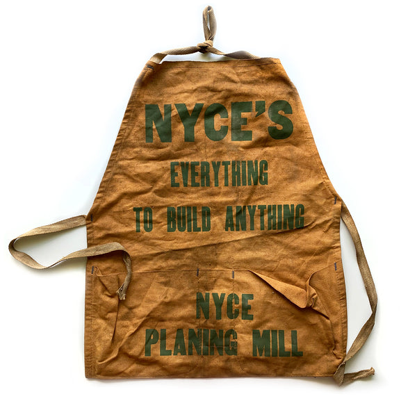 Vintage Hardware Store Apron NYCE'S