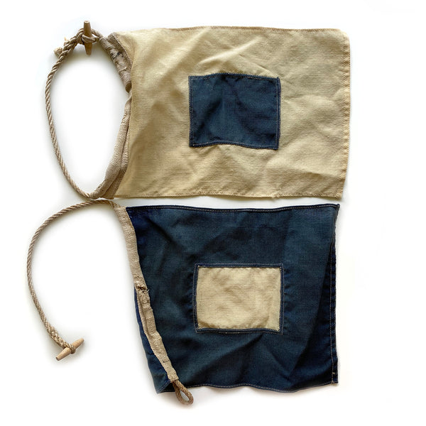 Vintage Pair of Naval Signal Flags