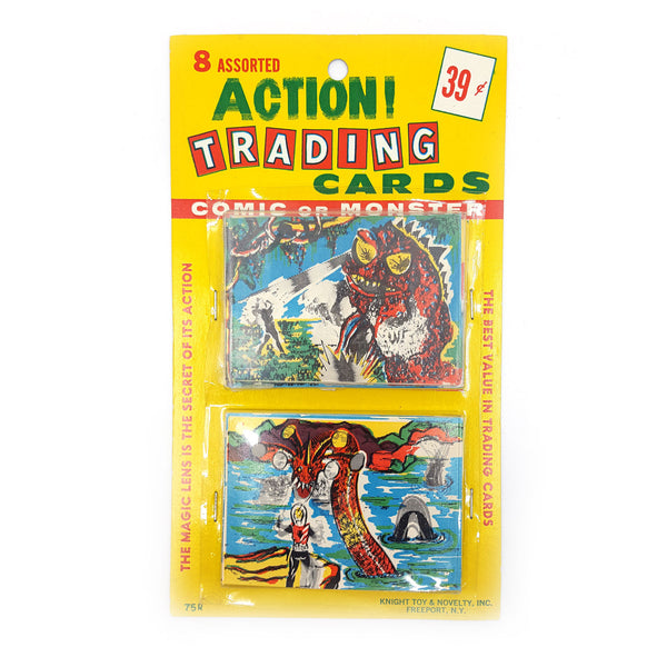 Action Trading Card Set