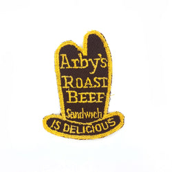 Arby's Roast Beef Embroidered Patch