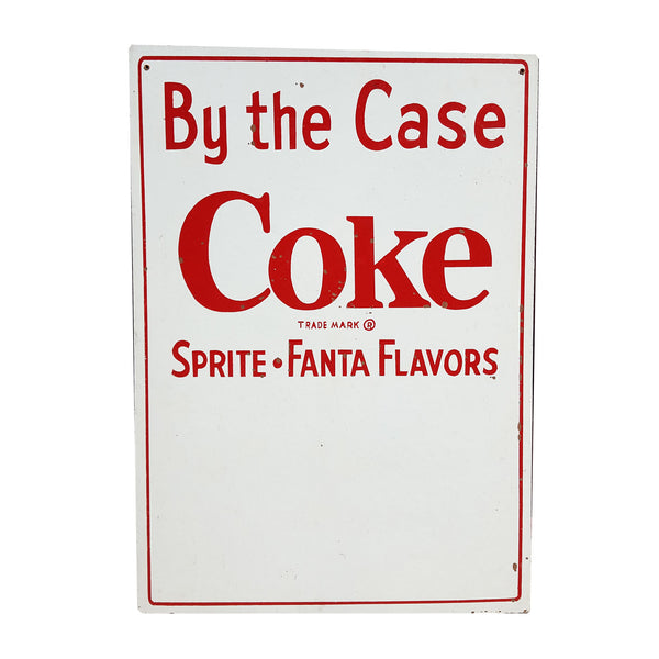 Coke By The Case Signage