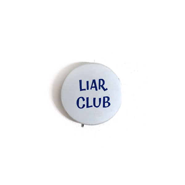 """Liar Club"" Button"