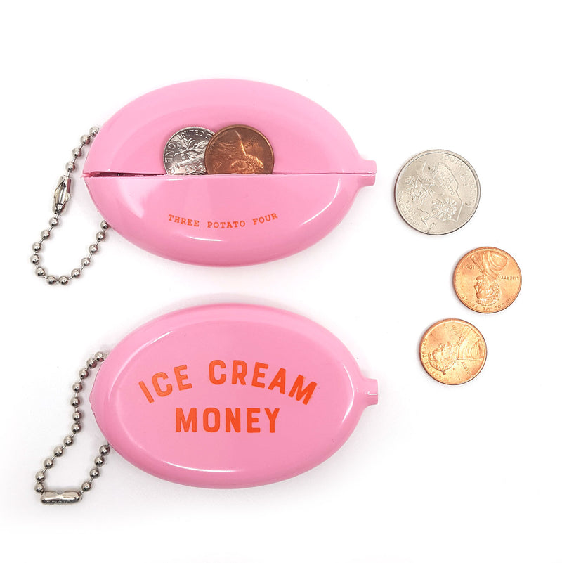 Coin Pouch - Ice Cream Money