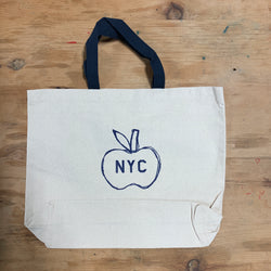 New York City Big Apple Tote Bag