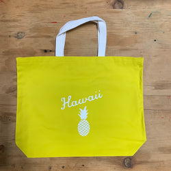 Aloha Tote - Electric Yellow