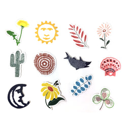 Pocket Sticker Set - Nature