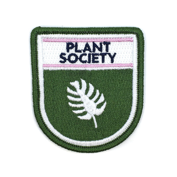 Secret Club Patch - Plant Society
