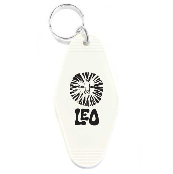 LEO KEY TAG - WHITE