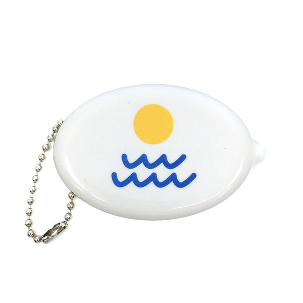 Coin Pouch - Sun / Waves