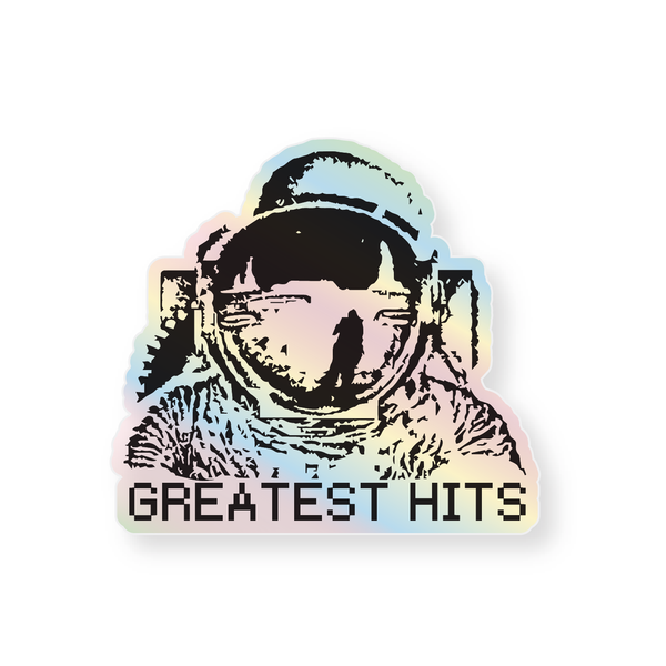 Holographic Sticker - Astronaut
