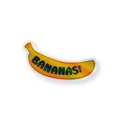 Holographic Sticker - Bananas!