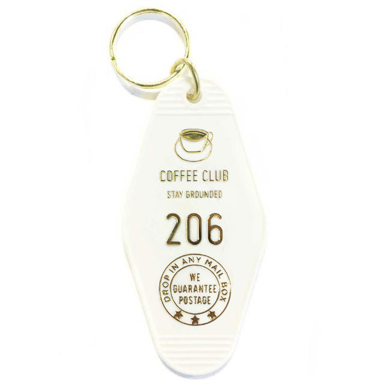 COFFEE CLUB KEY TAG